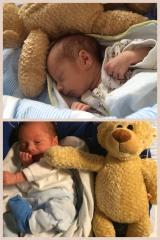 Leo med bamse